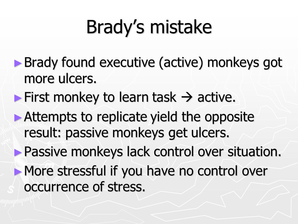 Brady's experiment ► Active monkey is on the left.