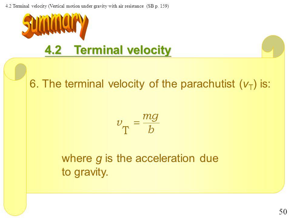 49 4.2Terminal velocity 5.
