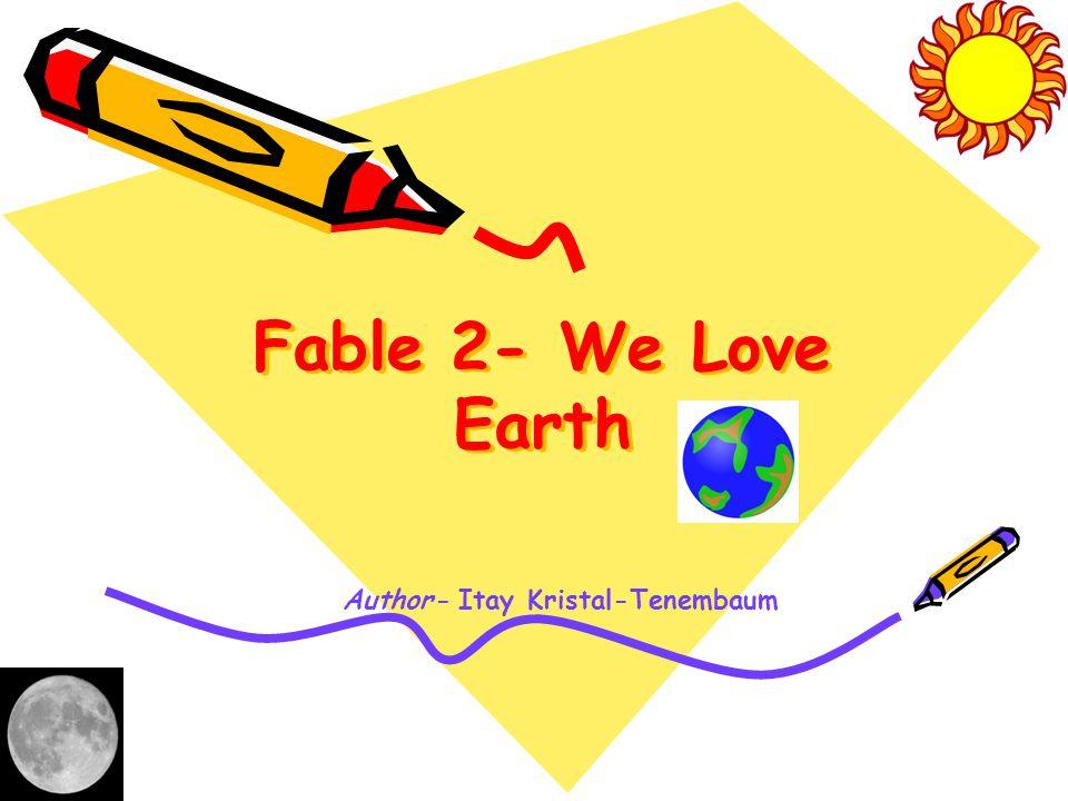 Author: Itay Kristal-Tenembaum, 4 th grade.