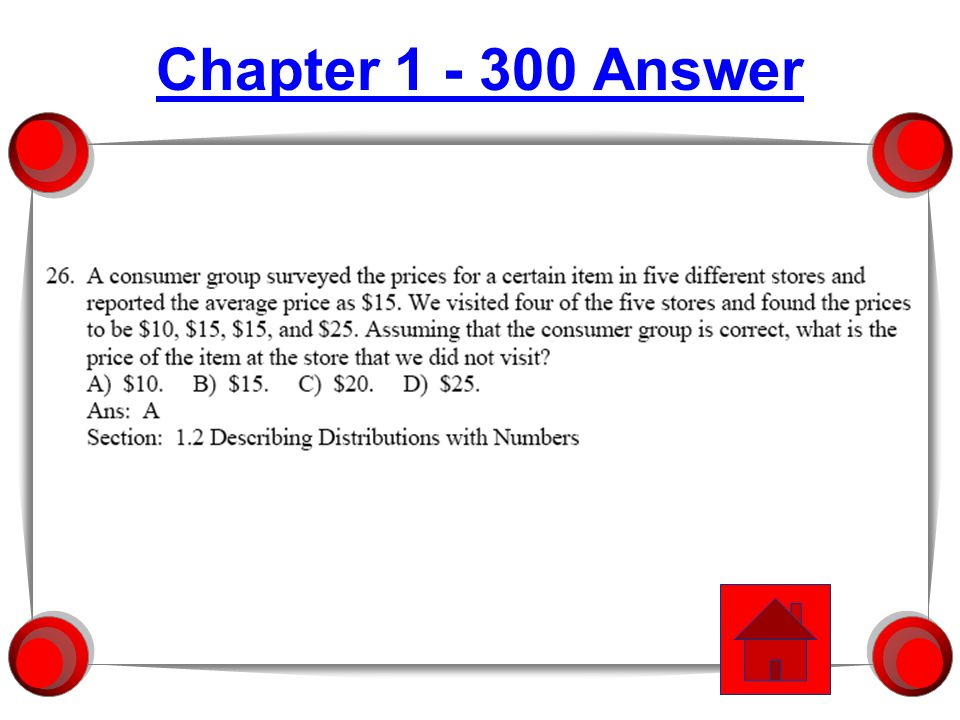 Chapter 1 - 200 Answer