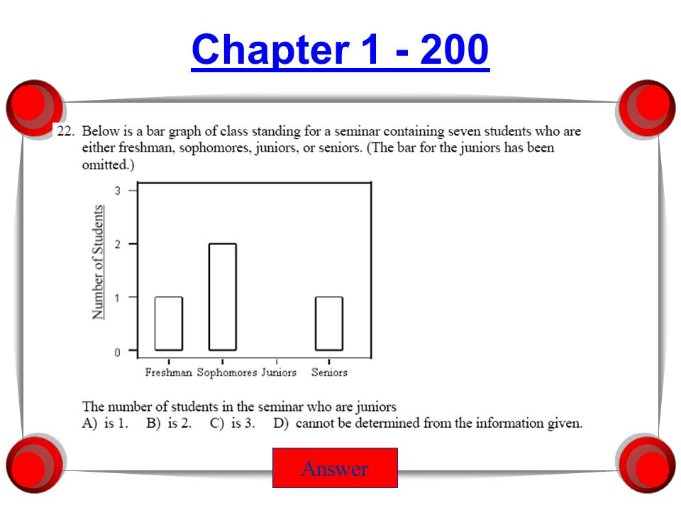 Chapter 1 - 600 Answer