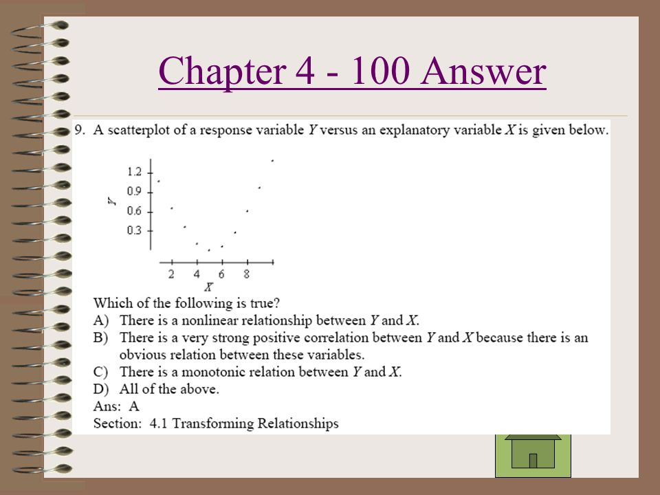 Chapter 4 - 600 Answer