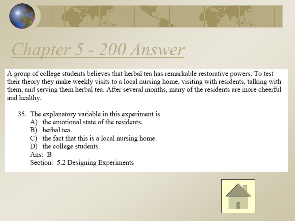 Chapter 5 - 100 Answer