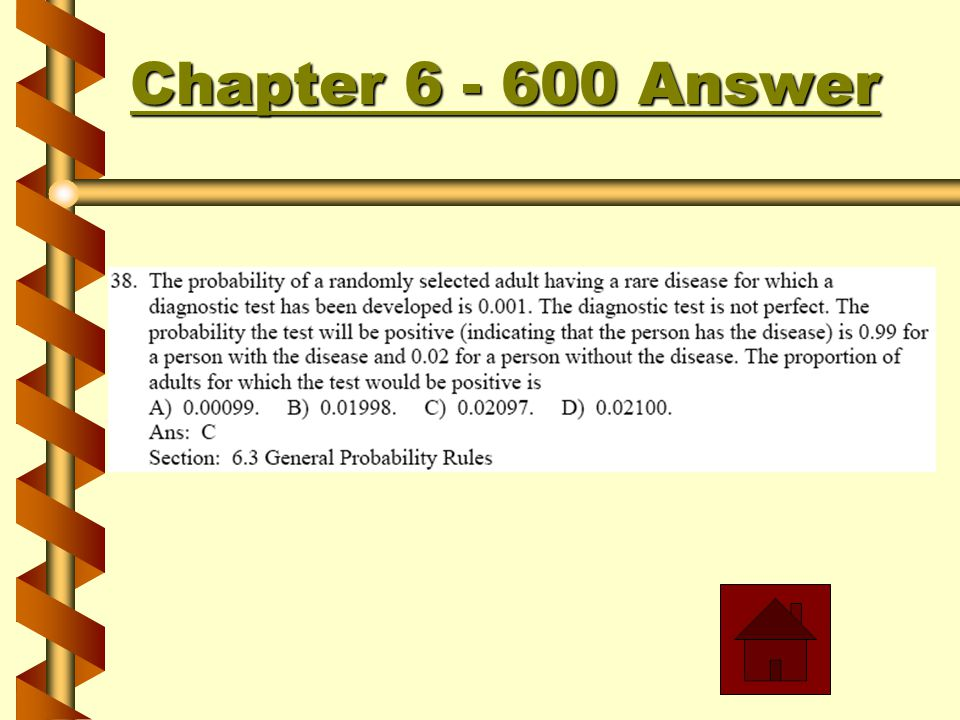 Chapter 6 - 500 Answer Chapter 6 - 500 Answer