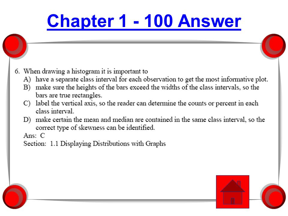 Chapter 3 - 300 Answer
