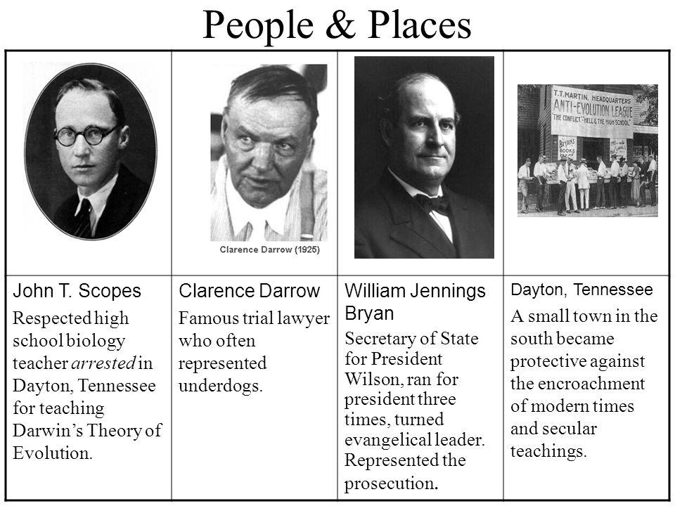 People & Places John T.