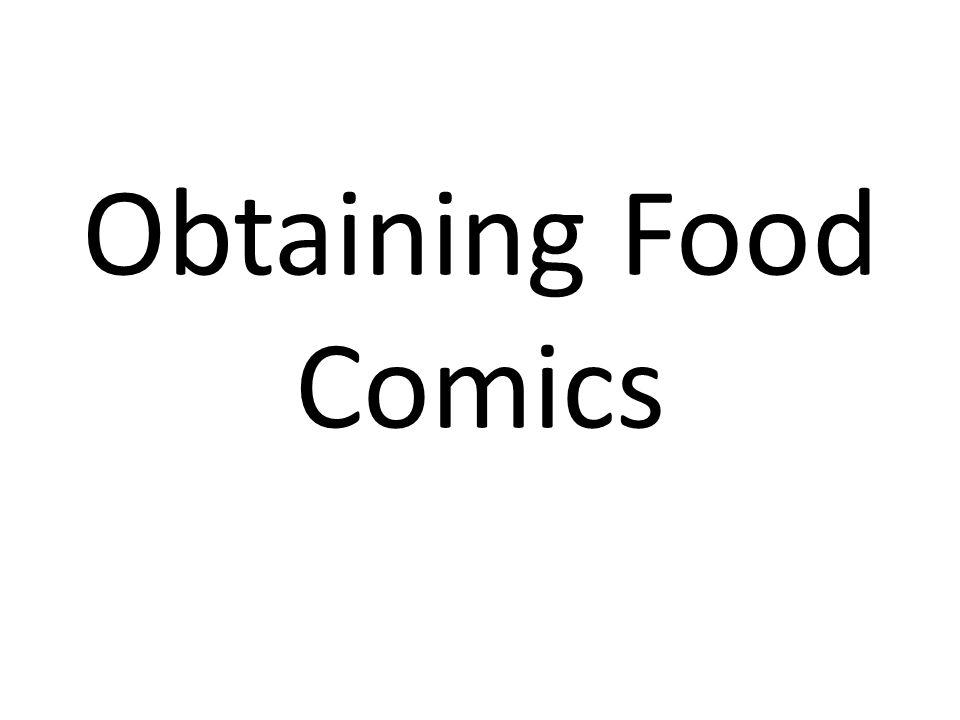 Obtaining Food Comics