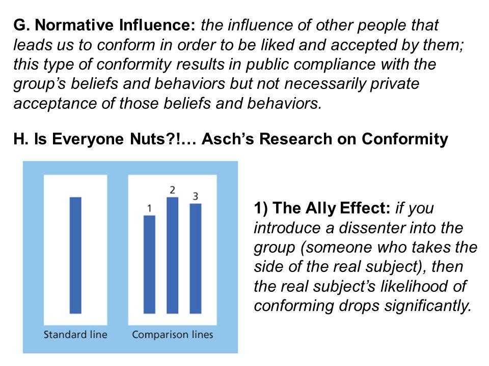 II.What Other Factors Predict Conformity. A.