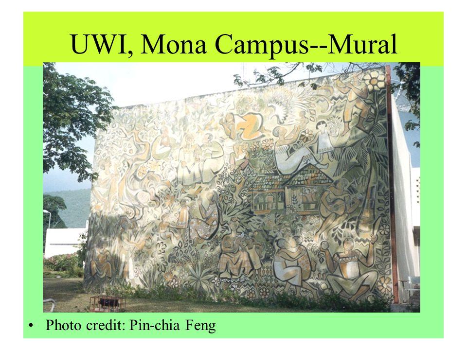 UWI, Mona Campus--Mural Photo credit: Pin-chia Feng