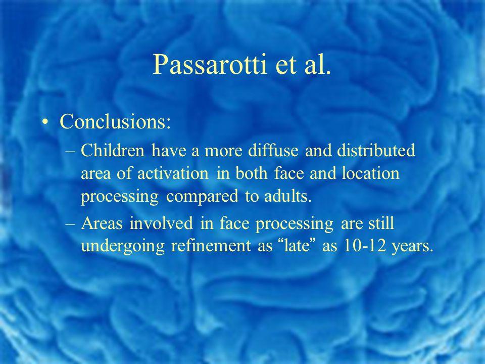 Passarotti et al.