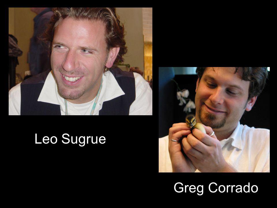 Greg Corrado Leo Sugrue