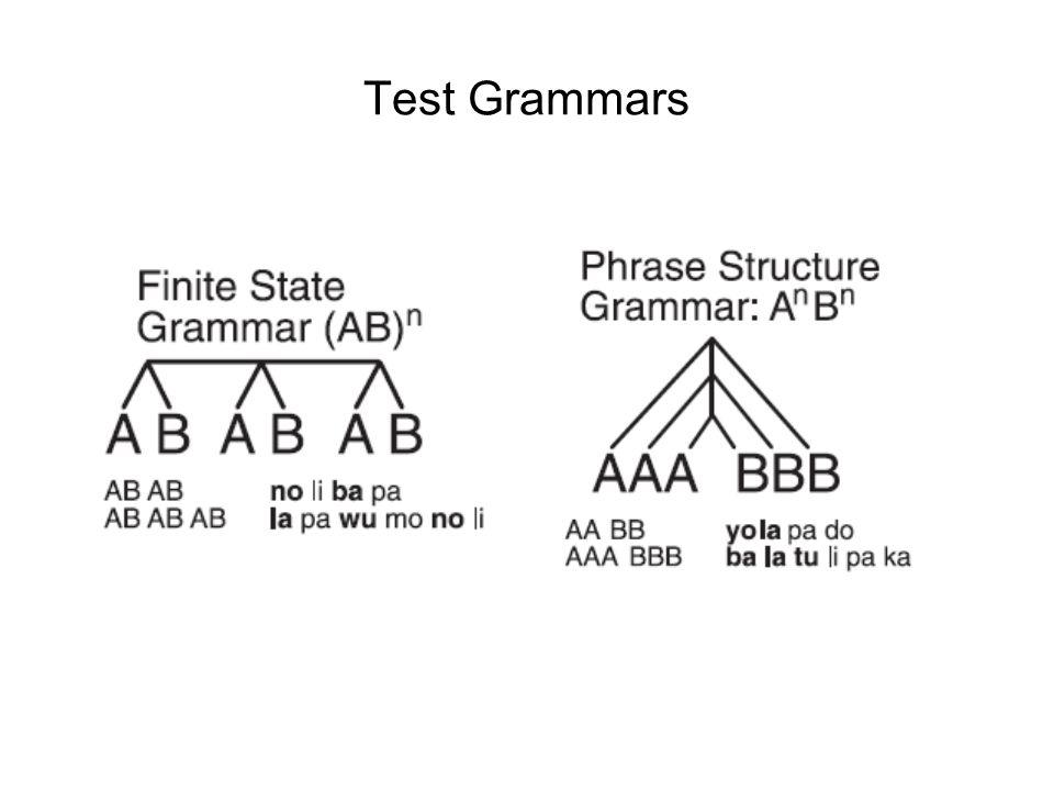 Test Grammars