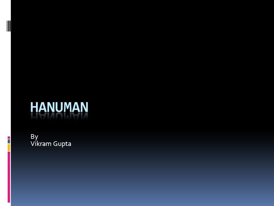 Quiz. Who was Hanuman's mother.