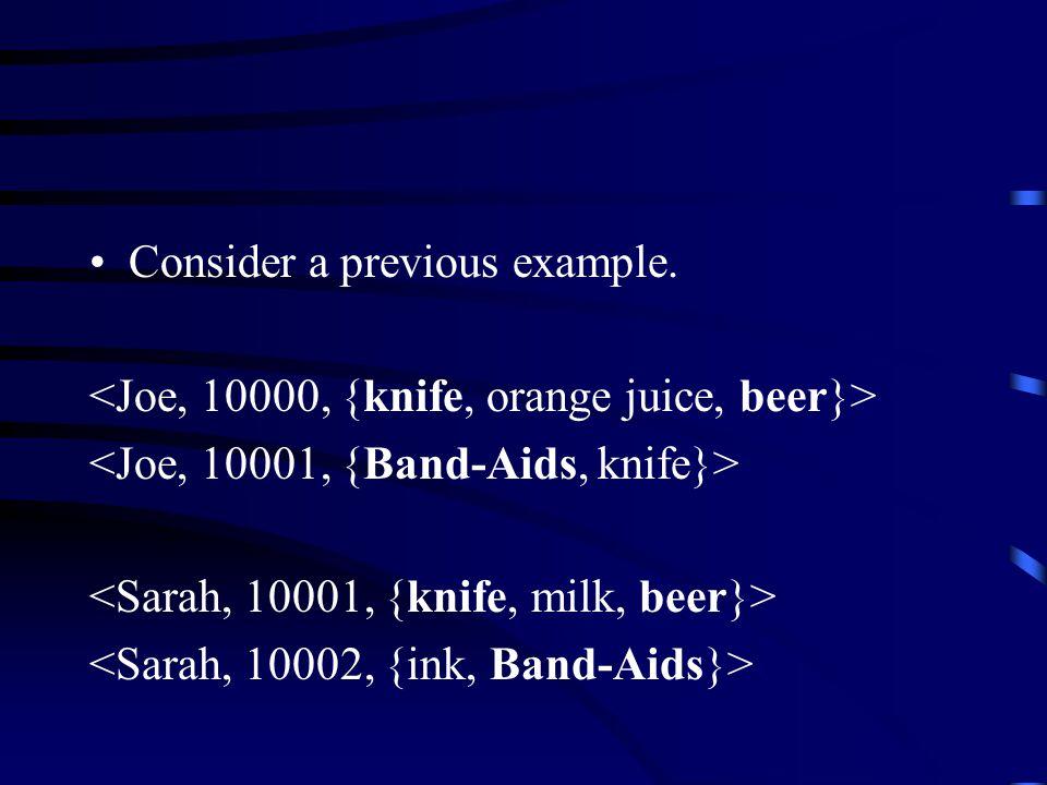 Consider a previous example.