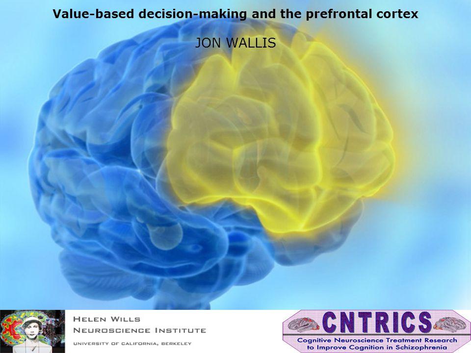 Animal models of decision-making Action selection Vigor/Arousal Motivation Cortex Accumbens Hypothalamus