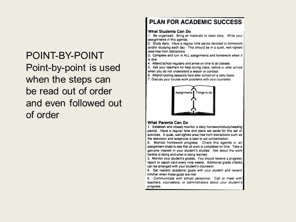 Step 3: Format Format is the design of a document.