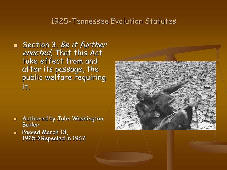 Key Figures William Jennings Bryan William Jennings Bryan  Prosecuting Attorney Christian Fundamentalist Christian Fundamentalist Died five days after the trial Died five days after the trial