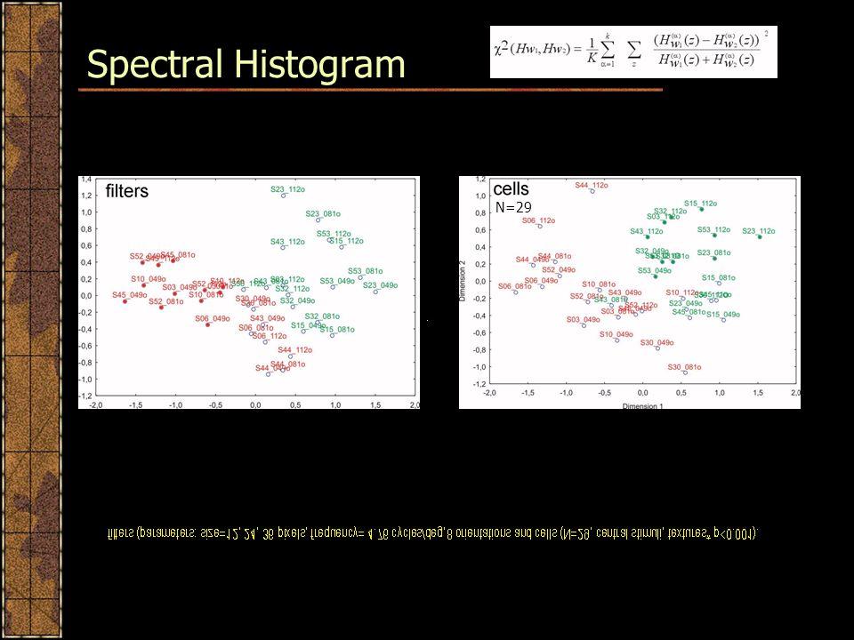 Spectral Histogram N=29