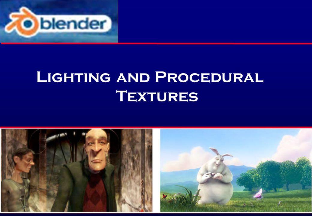 Lighting and Procedural Textures