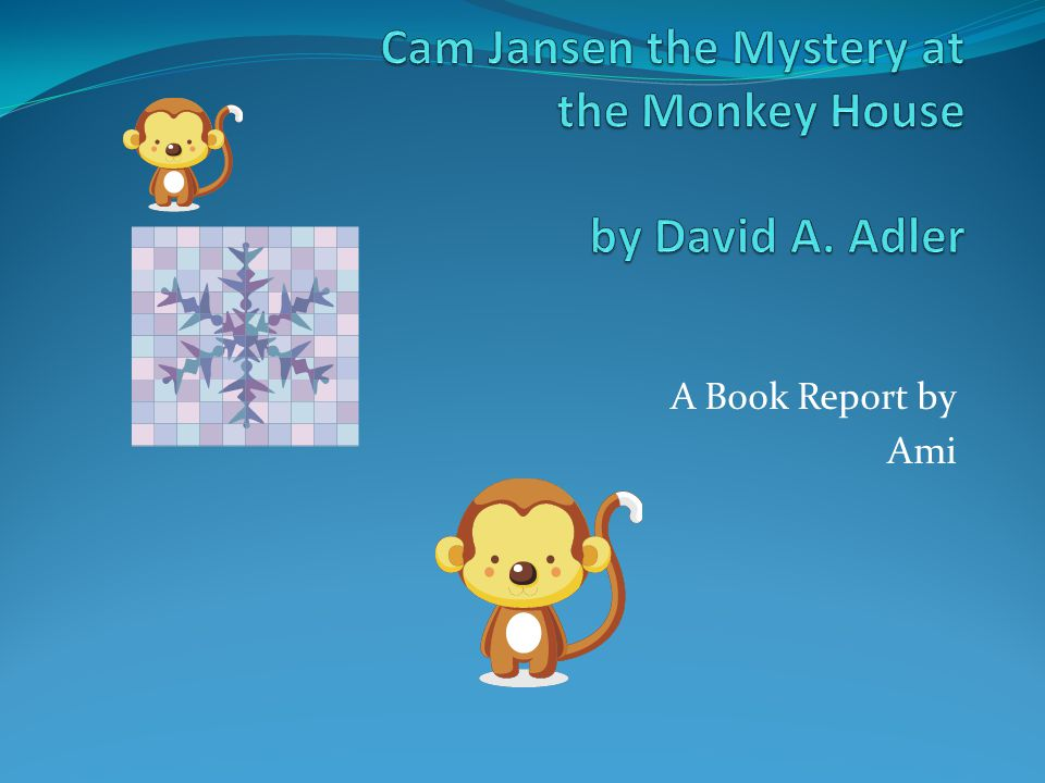 A Book Report by Ami