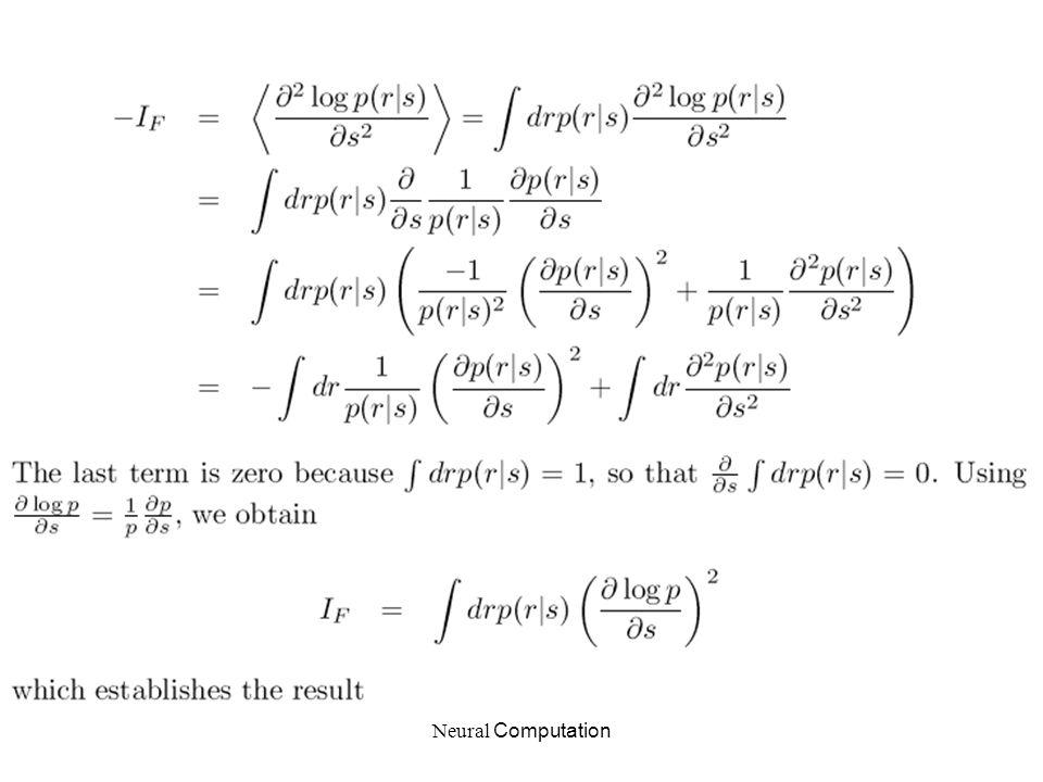 Neural Computation