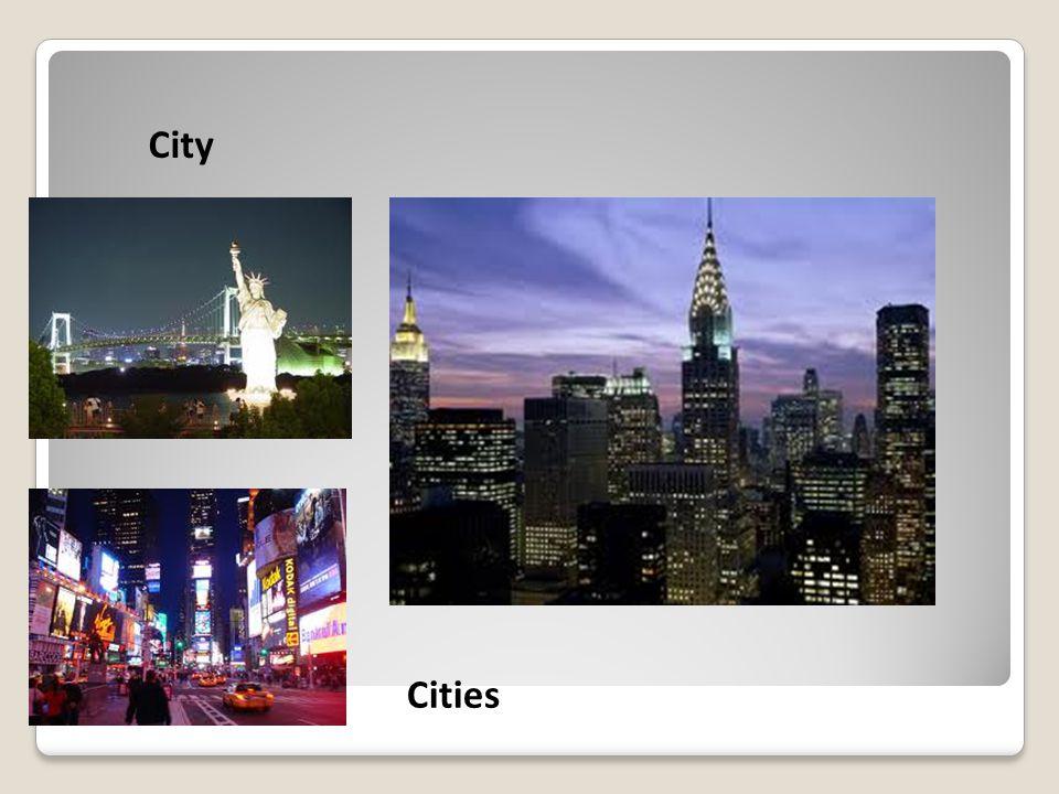 City Cities