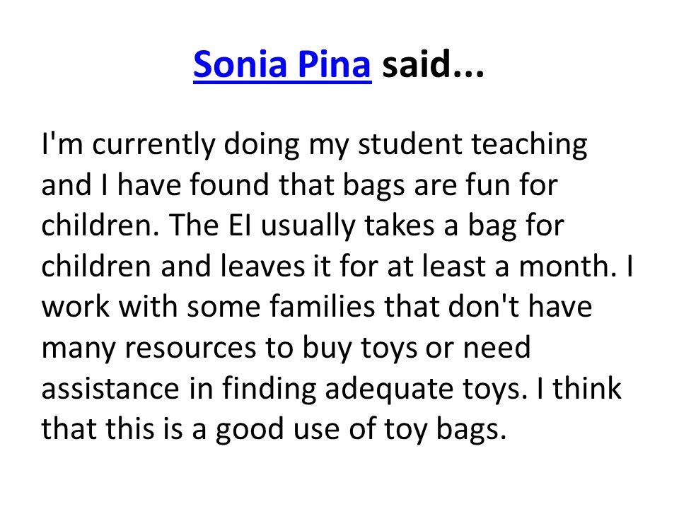 Sonia PinaSonia Pina said...