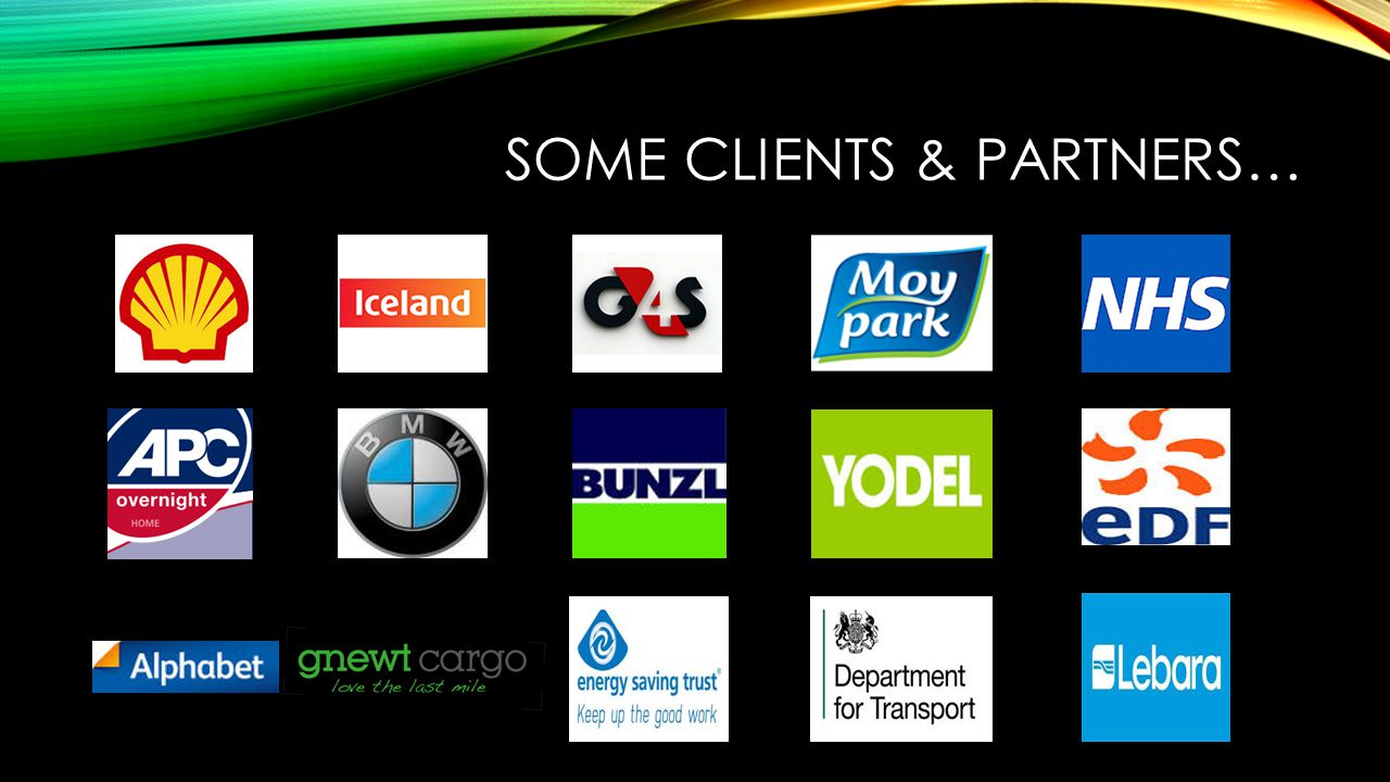 SOME CLIENTS & PARTNERS…