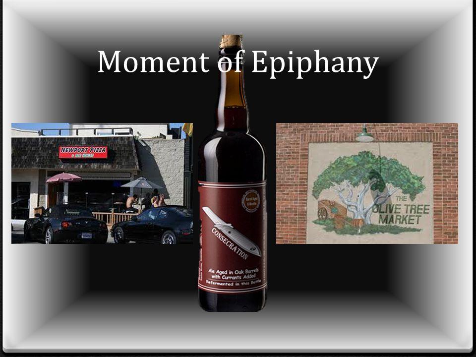 Moment of Epiphany