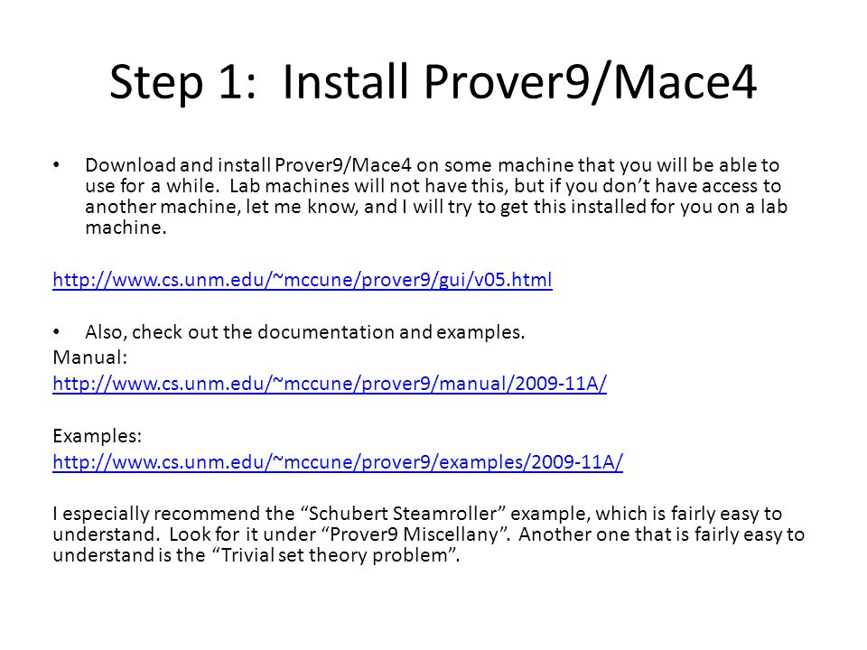 The Prover9/Mace4 GUI