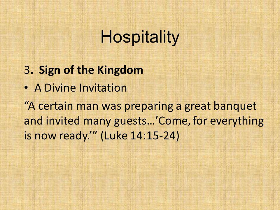 Hospitality 3.