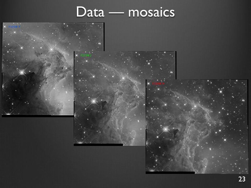 Data — mosaics 23