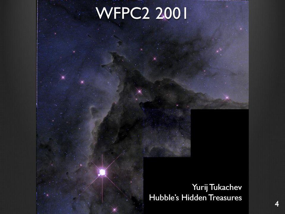 Yurij Tukachev Hubble's Hidden Treasures 4 WFPC2 2001