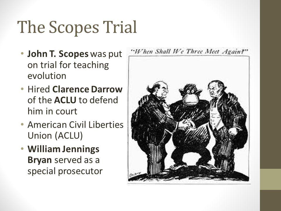 The Scopes Trial John T.