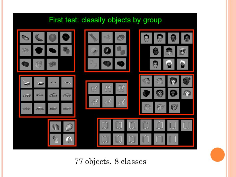 77 objects, 8 classes