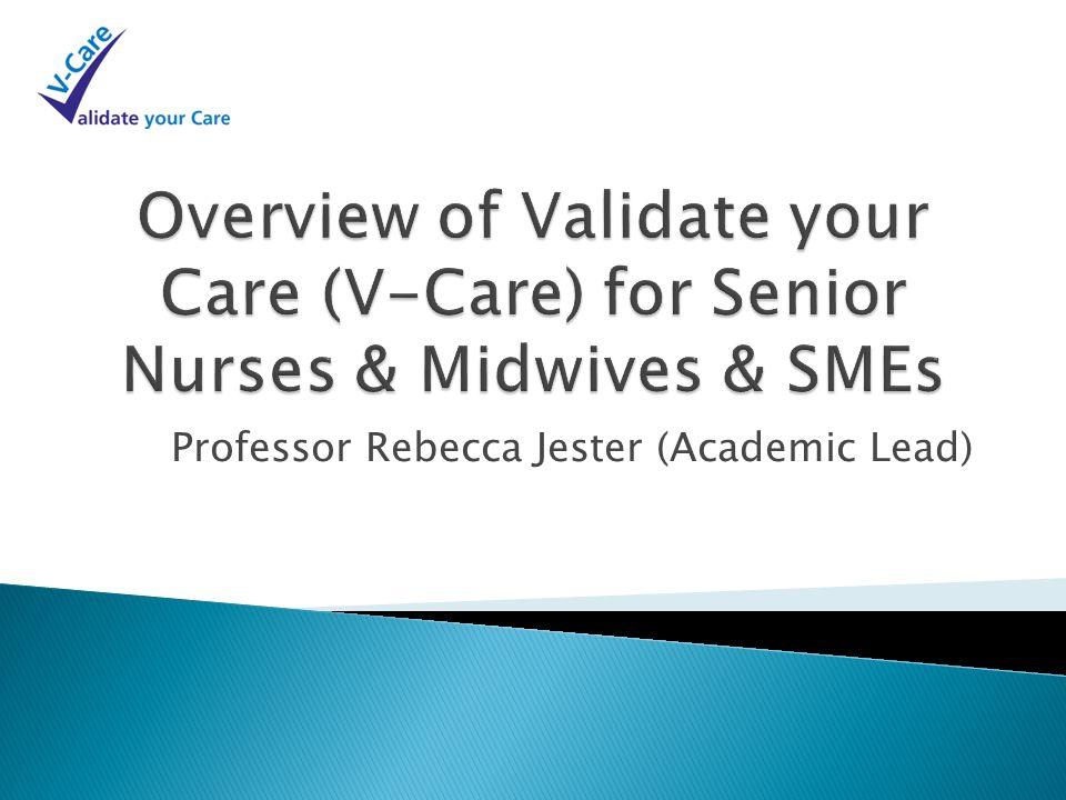 Professor Rebecca Jester (Academic Lead)