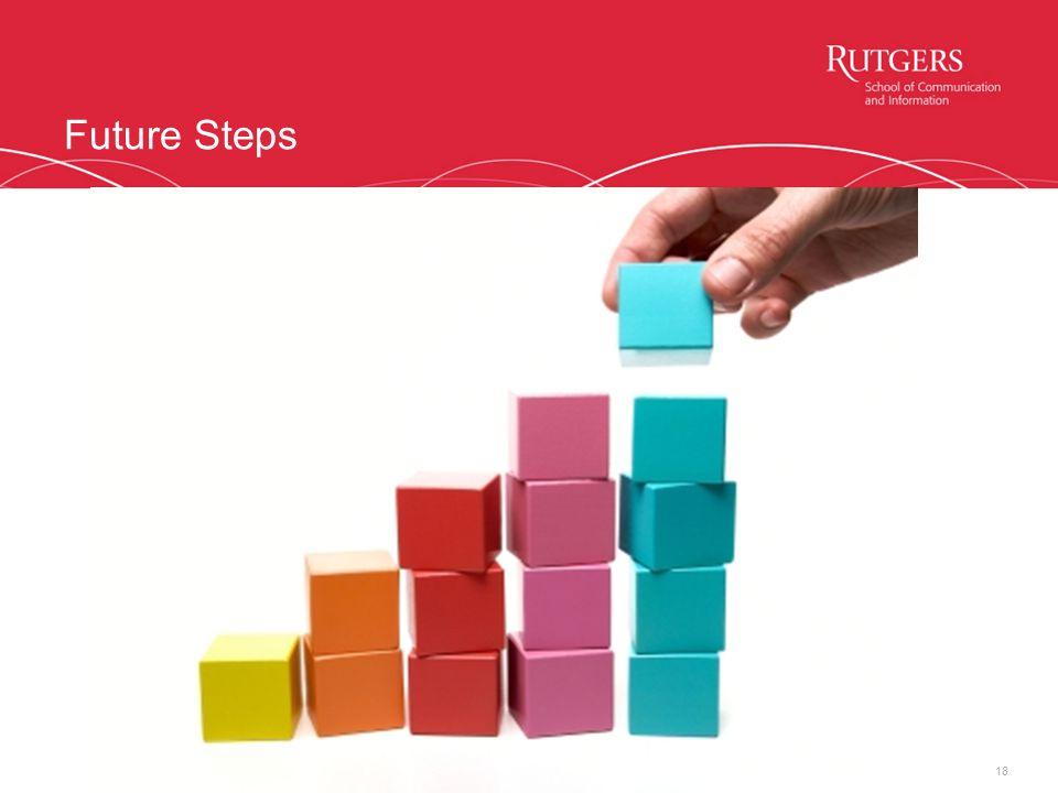 Future Steps 18