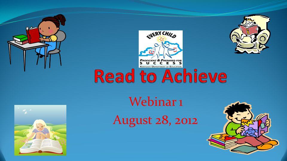 Webinar 1 August 28, 2012
