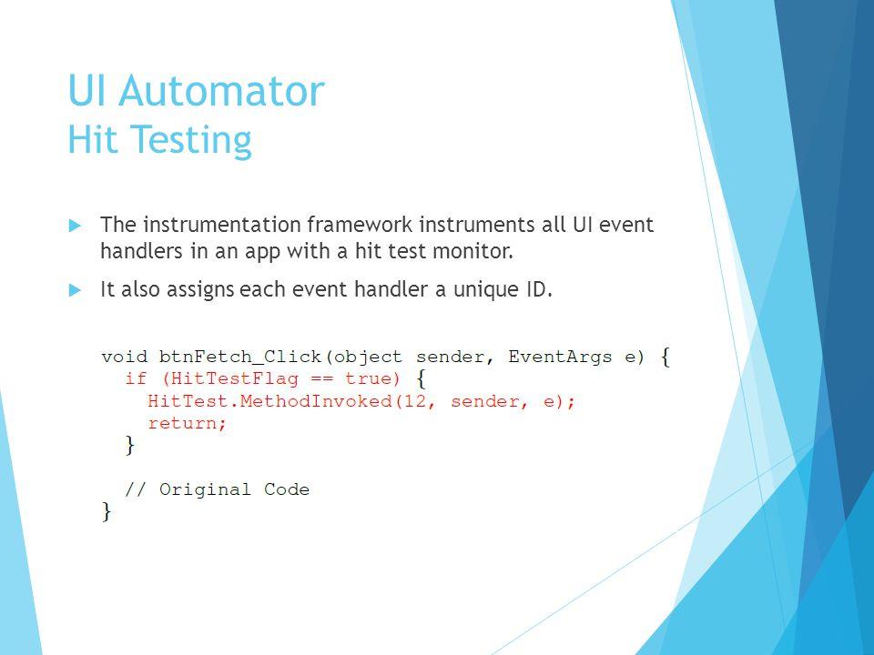 UI Automator When to interact next.