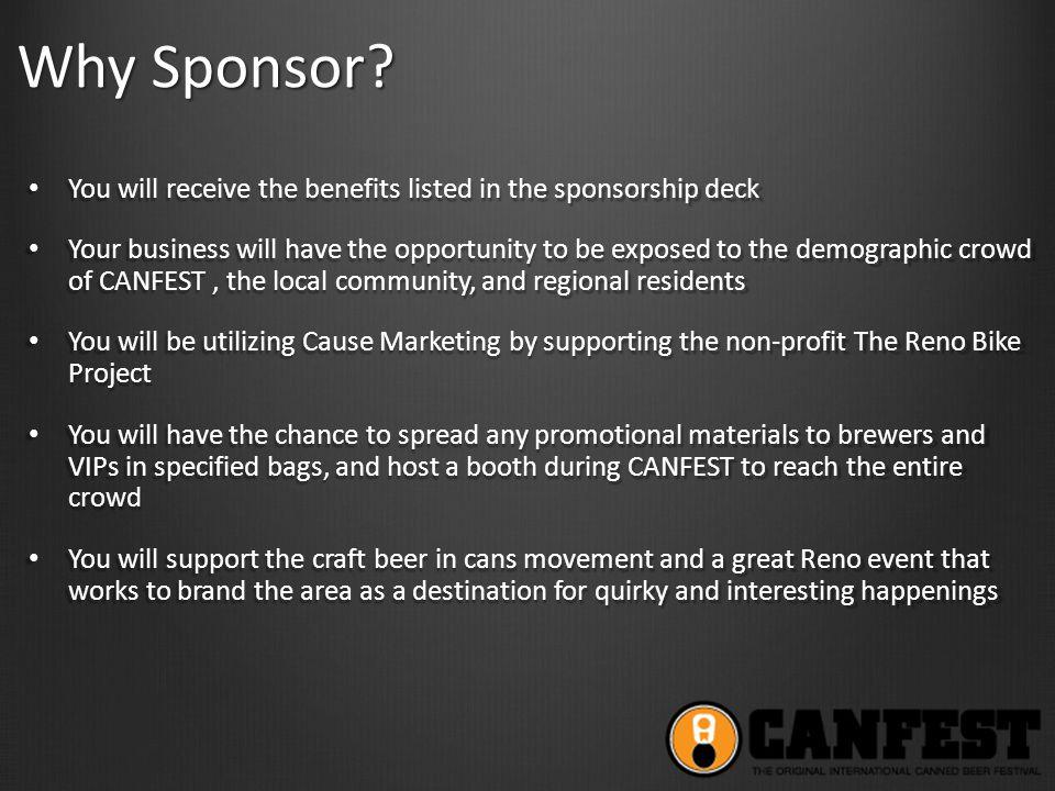 Why Sponsor.
