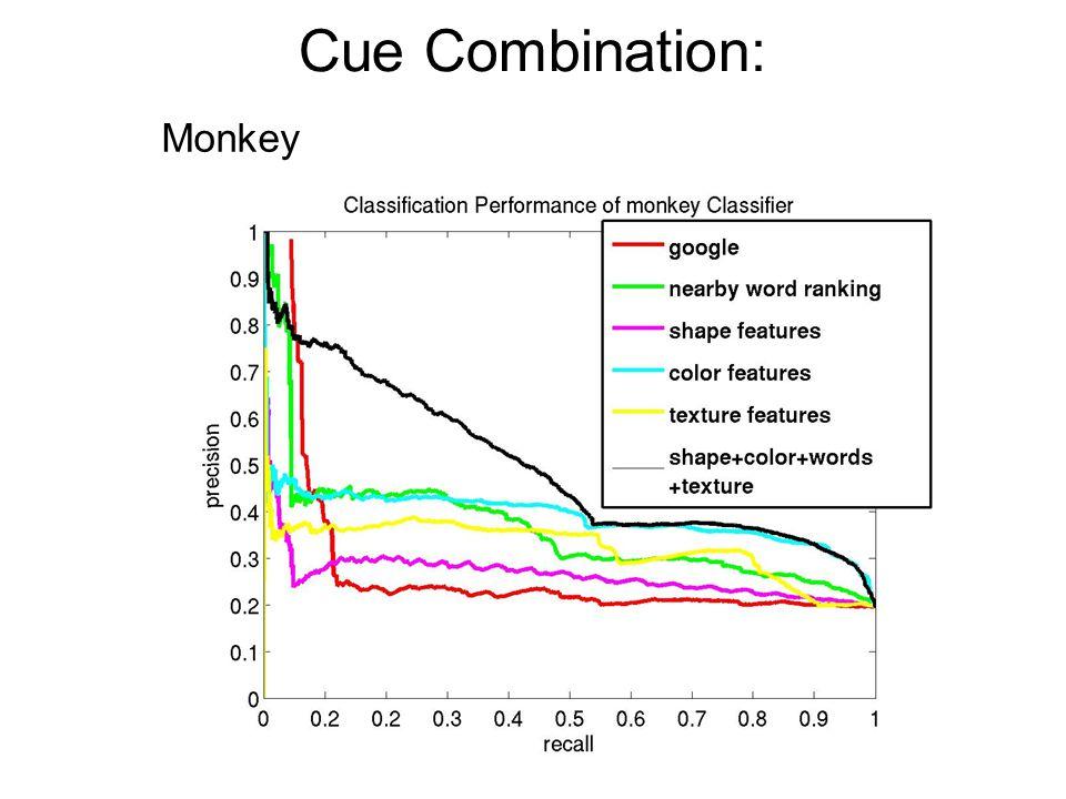 Cue Combination: Monkey