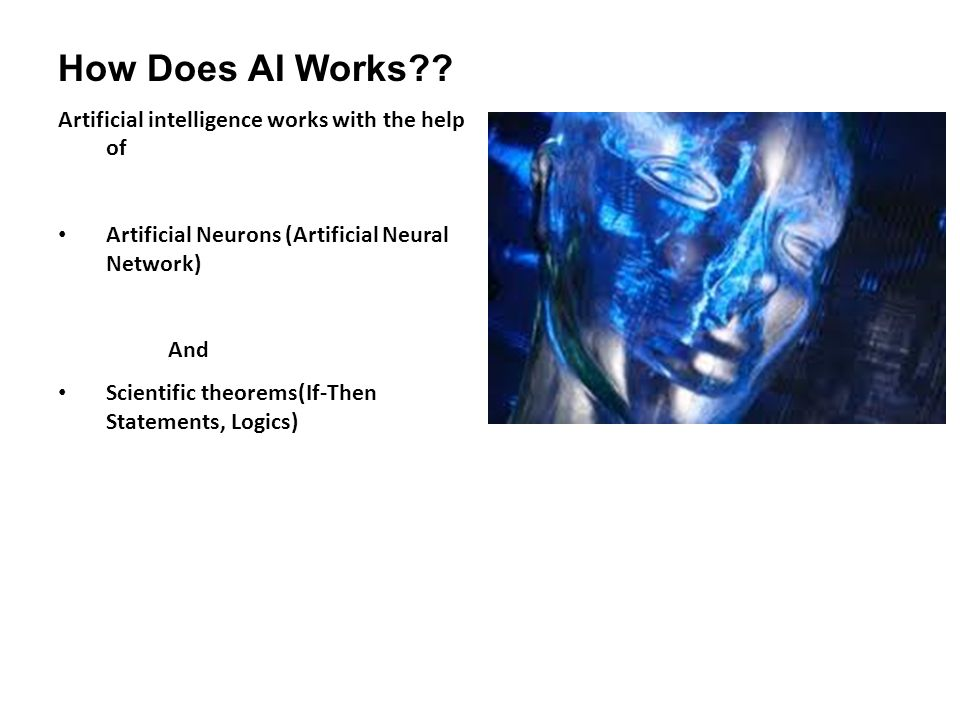 How Does AI Works .