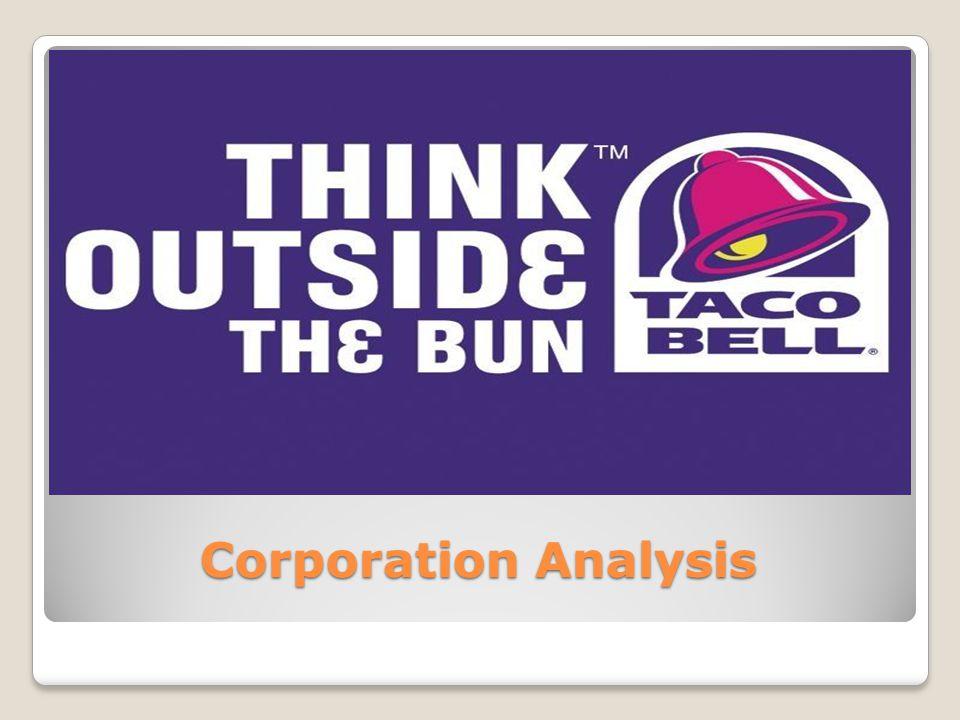 Corporation Analysis