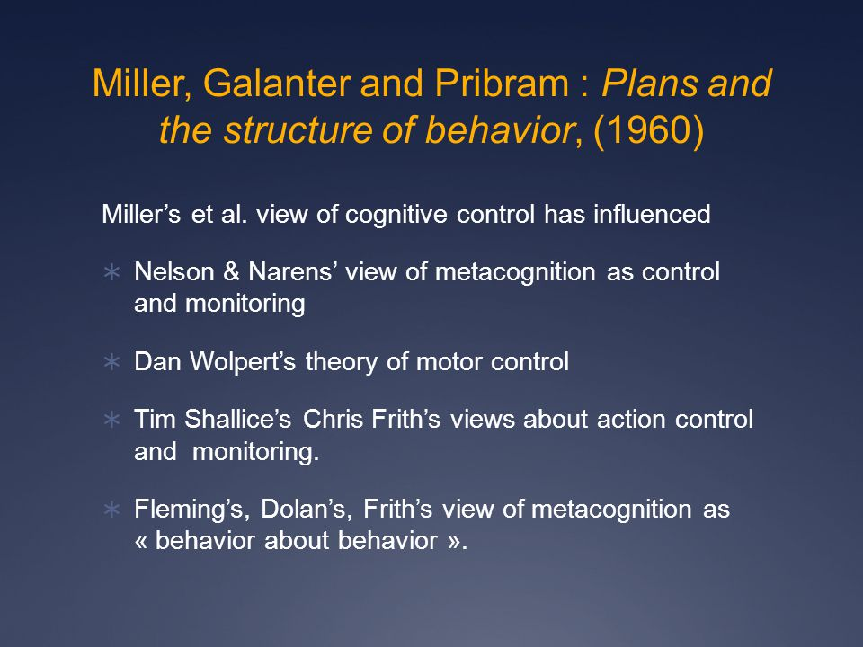 (3) Evaluation only needs to represent mental states as such in higher forms of control.