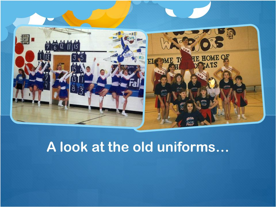 A look at the old uniforms…