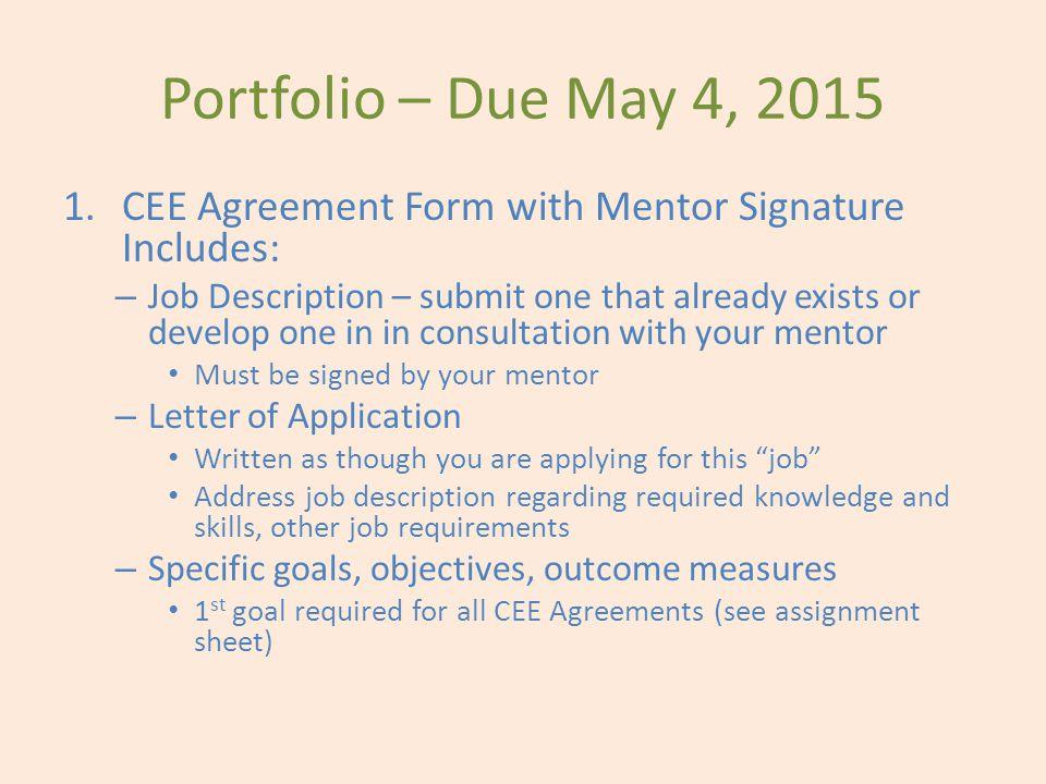 CEE Agreement