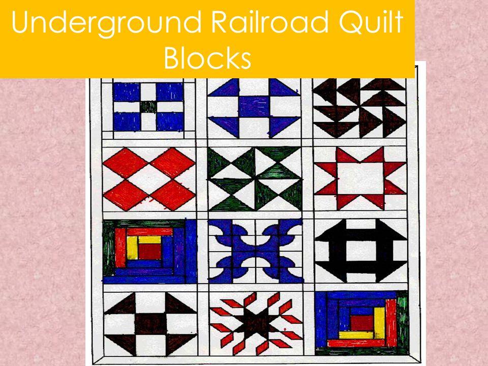 Underground Railroad Quilt Blocks