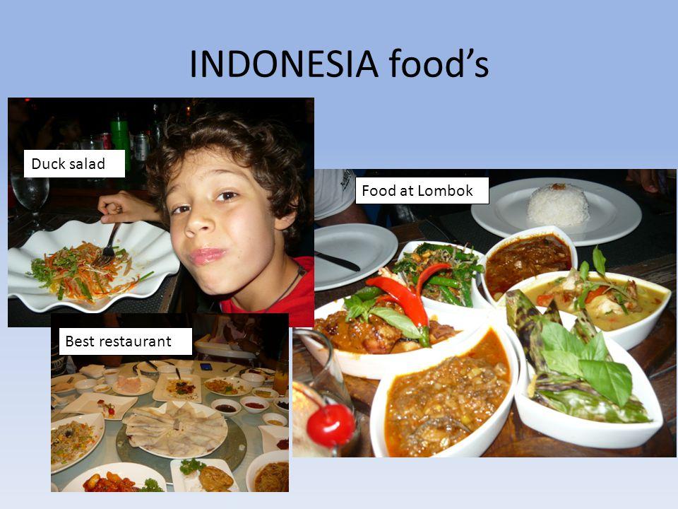 INDONESIA food's