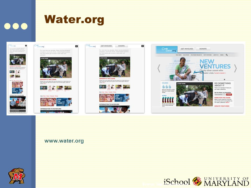 iSchool Water.org www.water.org Source: http://mediaqueri.es