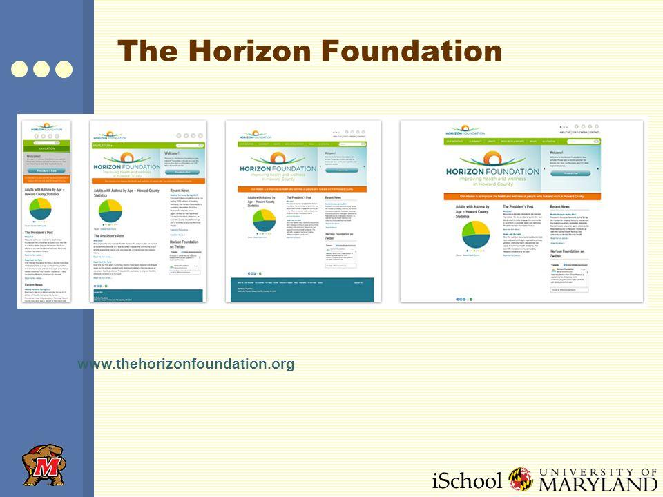 iSchool The Horizon Foundation www.thehorizonfoundation.org